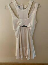 Women Adidas by Stella McCartney Tennis Off White Sleeveless Dress Size 34