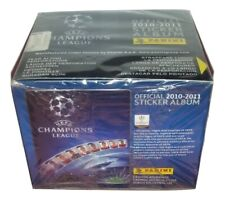 Champions League 2010-2011 Box 50 Packs Stickers panini