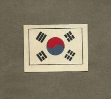 SOUTH KOREA FLAG 1900S MATCHBOX LABEL