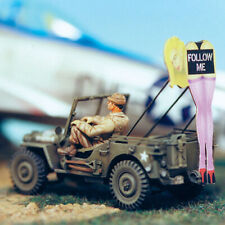 SOL RESIN FACTORY, MM103, SCALE 1/48,  WILLIS JEEP 'FOLLOW ME'