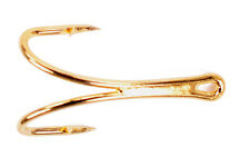 CS14T/2G Salar Tube Double Salmon Gold - Size 05 - Partridge Hooks - Qty 10