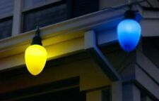 Really Big Lights Multicolor Christmas Lights 10 Pack 5 BLUE, 5 YELLOW ONLY
