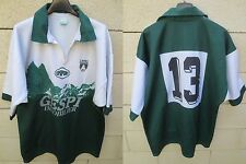 VINTAGE Maillot rugby SECTION PALOISE PAU porté n°13 Epsport collection rare XL