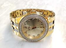 Vintage Bulova Accutron B3 Gold Tone Men's Wristwatch ~ 4-E283