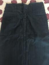 Ladies Giogio Blue Tone Pencil Skirt Size S BNWT