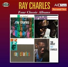 RAY CHARLES - FOUR CLASSIC ALBUMS  2 CD NEW!