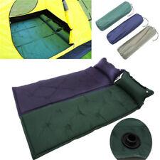 Single Self Inflating Camping Roll Mat/Pad Inflatable Bed Sleeping Mattress Bag