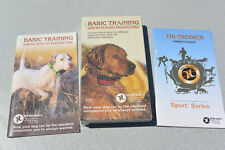 Vhs Tape and Manual for Tri-Tronics Sport 60 Series Dog Training Collar System