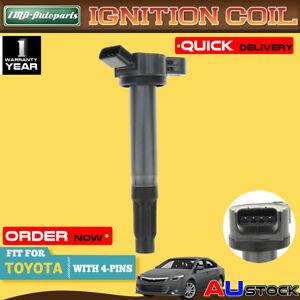 For Toyota Lexus RX350 RX450h RAV4 Tarago 2GR-FE 6 Cyl 3.5L Ignition Coil