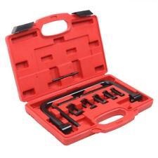 High Quality 10 pcs Valve Spring Compressor Kit 5 Adaptors Pusher Tool Black