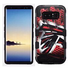 for Samsung Galaxy Note 8 Rugged Hard+Rubber Hybrid Case Atlanta Falcons #G
