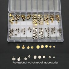 Watch Crowns Parts Mixed Gold Silver Spares Repairs Watchmaker Parts Assortment