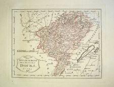 1806 Doubs Besancon Franche Comté Pontarlier Beaume Map Kupfer Nr 745 Reilly