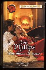 Livre Harlequin..HISTORIQUE...UNE DAME DE COEUR...Roman