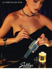 PUBLICITE ADVERTISING    1984    LE GALION  parfum SORTILEGE