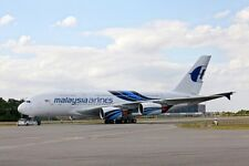 A-380 Airbus Malaysia Airlines A380 Airplane Wood Model Free Shipping Big