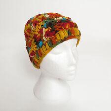 Hand Knitted Winter Woollen Crochet Beanie Hat, One Size, UNISEX CH17