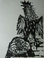 Otto DIX (1891-1969) -  Lithografie, ca. 1960
