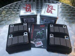 2x SBS 806 DS Dual Sinter Racing Brake Pads For Suzuki Gsx-R 750, K4- Gsxr 1000