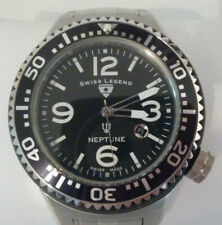 Luxus Swiss Legend Neptune XL Diver Taucher Swiss Made Uhr  Neu  UVP: 998 €