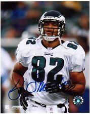 L.J. Smith Signed Autographed 8x10 Photo - w/COA - NFL Eagles Ravens Rutgers