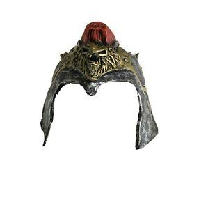 Disguise Roman Spartan Helmet Halloween Costume Adult Latex Hat Armor Warrior OS