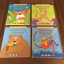 Curious Creatures - set of 4 books by Jill Tushingham -What's the Opposite? ....