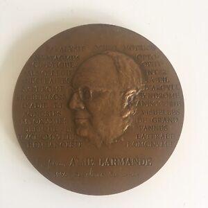 Médaille Bronze Aimé Larmande Neurones Cortex Visuel par Fremondière 1985