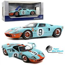 Solido 1:18 - 1968 Ford GT40 MKI 24HR of Le Mans #9 Gulf - Diecast Model