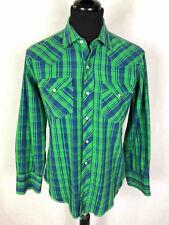 Cult Vintage '60 Usa Men's Shirts Texas Western Scotland Man Shirt Sz. M - 48