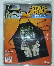 Star Wars Boba Fett Apron 100% Cotton Adult Size Disney