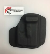 Fits Glock 26 / 27 with TLR6 Kydex Shell, Black, DIY Holster, No Holes