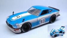 Datsun 240z 1972 #53 White / Blue 'JDM TUNERS' 1:24 Model JADA TOYS