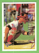 1995 AUSTRALIAN BASEBALL CARD #92  DAVID  NILSSON, ALL-STARS