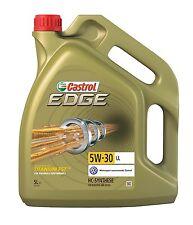 Aceite Castrol Edge FST 5W30 5 Litros - Lubricante Motor Coche Audi Mercedes 5L
