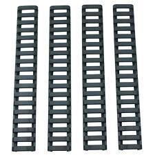 4Pc Black 17 Slot Ladder Rail Cover Handguard Picatinny Heat Resistant Tool Sets