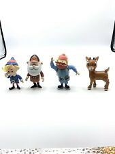 Rudolph the Red Nosed Reindeer Figures Christmas Item Works