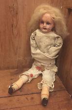 OOAK ASYLUM Antique Repurposed Art Doll - Mitre Street Mary - Gothic Art