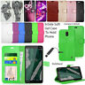 For Nokia 1 Plus  Wallet Leather Case Flip Shockproof Book Cover + SCREEN GUARD