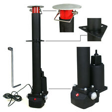 12V 3500 lbs Electric Power Tongue Jack RV Boat Jet Ski A-Frame Trailer Camper