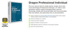 Nuance Dragon Professional Individual 15 Speech Recognition - Instant Delivery