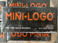 Mini logo precision skateboard bearings