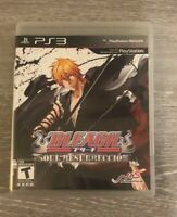 Bleach: Soul Resurrección (Sony PlayStation 3, 2011) Complete