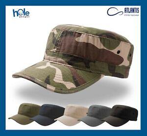 Cappello Army Mimetico Berretto Militare Cappellino da Uomo Donna Softair Pesca