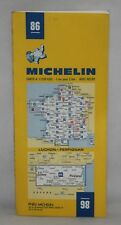 France - Michelin 1:200,000 Map - Luchon, Perpignan - Sheet 86 - 1980