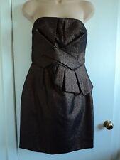 DOROTHY PERKINS STRAPLESS DRESS / PROM / GRADUATION DRESS SIZE 10