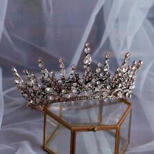 Baroque Crown Headpieces Headband Bridal Tiaras Crown Wedding Hair Accessories