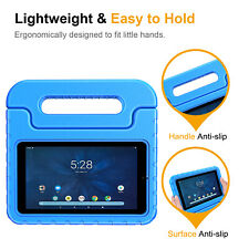 ShockProof Case for Onn 7 inch Tablet Kids Friendly Handle Stand Cover Children