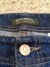 EUC Womens Eddie Bauer Boot Cut Jeans 6 Specially Dyed  Stretch