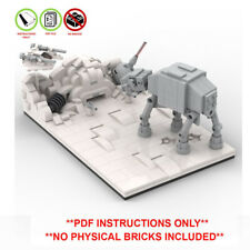Lego Star Wars Custom Assault on Hoth Micro MOC - PDF INSTRUCTIONS ONLY